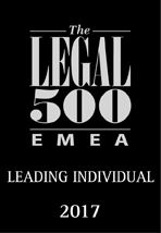 The Legal 500 - Leading Individual 2017
